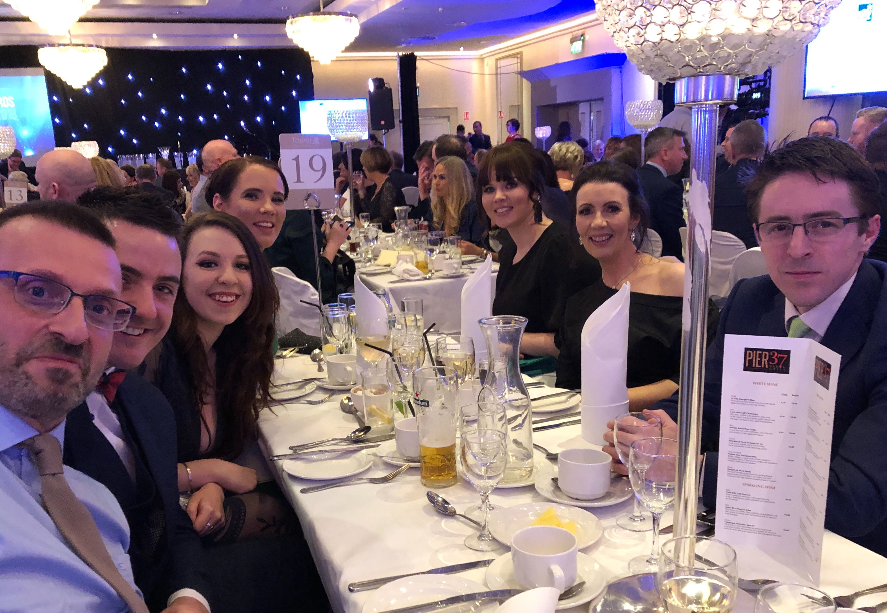 waterford business awards aphex team