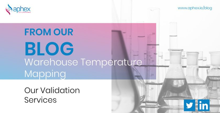 warehouse temperature mapping validation services