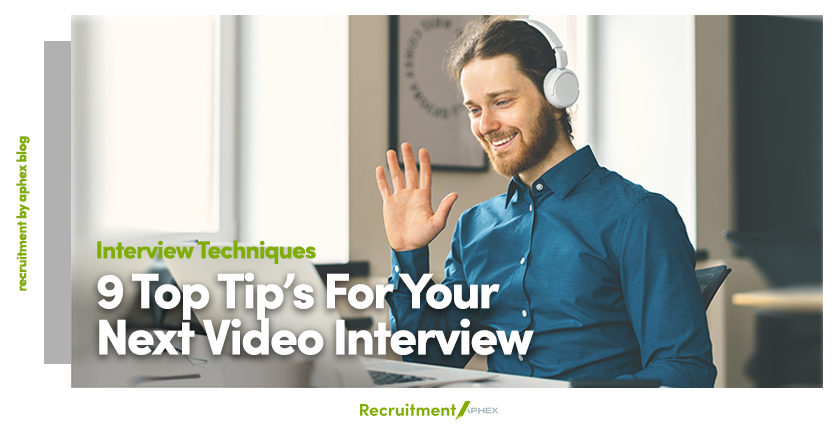 Video interview tips and advice blog post